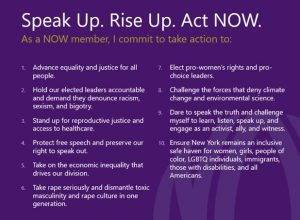 Speak Rise Up Act NOW